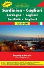 cerdeña y cagliari, mapa de carreteras (1:150000) (freytag & bern dt)-9783707907636