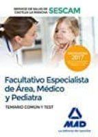 facultativo especialista de área, temario y test del servicio de salud de castilla la mancha 9788414203736