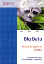big data analisis de datos con phyton yolanda garcía ruiz 9788416228836