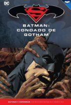 batman y superman   colección novelas gráficas núm. 56: batman: c ondado de gotham steve niles 9788417063436