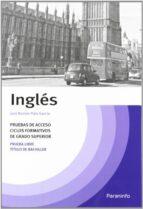 temario ingles: prueba de acceso a ciclos formativos de grado sup erior jose ramon pato garcia 9788428315036