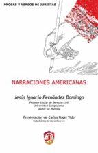 narraciones americanas jesus ignacio fernandez domingo 9788429018936