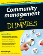 community management para dummies (ebook)-pedro rojas-9788432900136