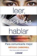 leer, escribir, hablar-roberto g. carbonell-9788441420236