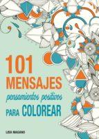 101 mensajes para colorear-lisa magano-9788441435636