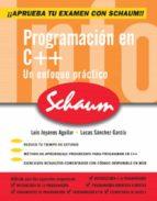 programacion en c ++ (serie schaum) luis joyanes aguilar 9788448146436