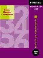 quadern de repas nombres i operacions: exercicis de matematiques 1: primer cicle eso-9788448913236
