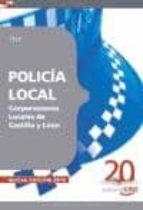 policia local corporaciones locales de castilla y leon. test-9788468105536