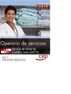 pack ahorro basico. operario de servicios. servicio de salud de castilla y león (sacyl). (incluye temario, test, simulacros de 9788468198736