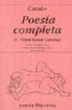poesia completa (3ª ed.) cayo valerio catulo 9788475175836