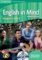english in mind level 2 student dvd rom  spanish speakers 9788483239636