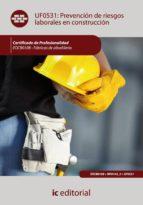 (i.b.d.)prevencion de riesgos laborales en construccion. eocb0108 fabricas de albañileria-9788483645536