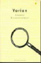 analisis microeconomico (3ª ed.) hal r. varian 9788485855636