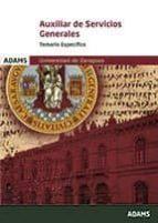 AUXILIAR DE SERVICIOS GENERALES TEMARIO ESPECIFICO UNIVERSIDAD DE ZARAGOZA