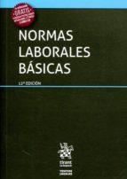 normas laborales básicas 12ª ed 2017-9788491693536