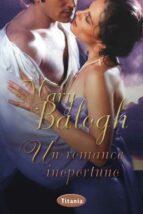 un romance inoportuno mary balogh 9788492916436