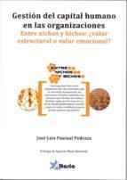 gestion del capital humano en las organizaciones-jose luis pascual pedraza-9788494184536