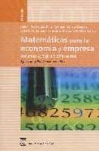 matematicas para la economia y empresa vol.2: calculo diferencial . ejercicios y problemas resueltos-9788496062436