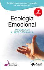 ecologia emocional jaume soler mª merce conangla 9788497357036