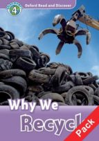 oxford read and discover 4: why do we recycle audio pack wole soyinka 9780194644846