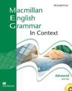 macmillan english grammar in context advanced with key and cd-rom pack-9781405070546