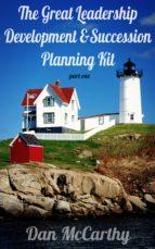 the great leadership development and succession planning kit (ebook)-dan mccarthy-9781623098346
