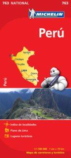 mapa peru 2012 (ref. 763) 9782067173446