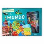 descubriendo el mundo  (libro + talbero + 81 imanes) 9782733857946