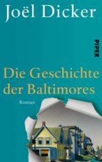 die geschichte der baltimores joël dicker 9783492057646