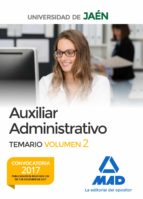 auxiliar administrativo de la universidad de jaen: temario (vol. 2) 9788414214046