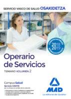 operario/a de servicios de osakidetza servicio vasco de salud: temario (vol. 2) 9788414215746