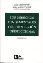 los derechos fundamentales y su protección jurisdiccional vicente gimeno sendra 9788415276746