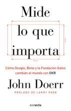 mide lo que importa (ebook)-john doerr-9788416883646