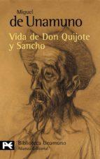 vida de don quijote y sancho miguel de unamuno 9788420636146