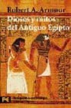 dioses y mitos del antiguo egipto-robert a. armour-9788420656946