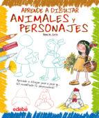 aprende a dibujar animales y personajes rosa maria curto 9788423699346