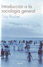 introduccion a la sociologia general guy rochel 9788425405846