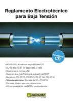 reglamento electrotécnico para baja tensión (2ª ed) (con cd) benilde bueno 9788426722546
