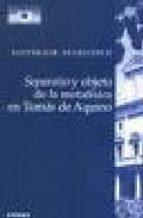 separatio y objeto de la metafisica en tomas de aquino-santiago r.m. gelonch-9788431319946