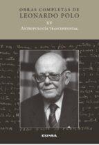 antropologia trascendental leonardo polo 9788431331146