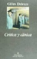 critica y clinica (2ª ed.) gilles deleuze 9788433905246