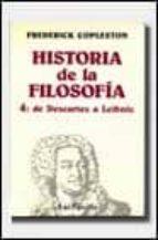 historia de la filosofia vol. 4: de descartes a leibniz-frederick copleston-9788434487246