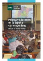 política y educación en la españa contemporánea (ebook) manuel de puelles benitez 9788436263046