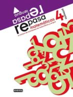 repasa: cuadernos de matematicas y lengua 4º primaria-9788444172446