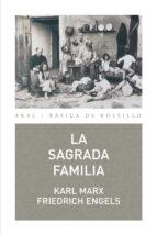 la sagrada familia karl marx friedrich engels 9788446035046