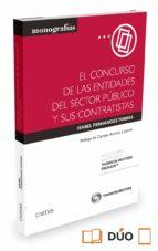 el concurso de las entidades del sector público y sus contratista s-isabel fernandez torres-9788447052646