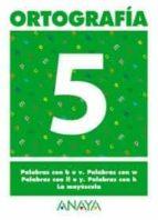 ortografia 5 (primaria) (ed. 2004) andrea pastor fernandez 9788466727846