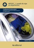 (i.b.d.)lavado de ropa en alojamientos. hota0108 - operaciones basicas de pisos en alojamientos-9788483646946