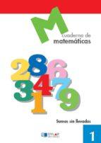 cuaderno de matematicas, nº 1 9788489655546