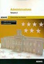 administrativos comunidad de madrid: temario 2-9788490848746